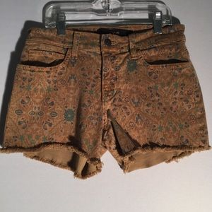 Joes Jeans Floral Brown Shorts R